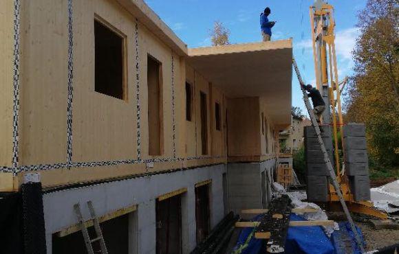 Construction ossature bois Seine et Marne